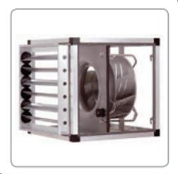 Spätný ventilátor